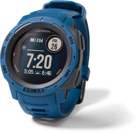 Garmin Instinct Solar GPS Watch   REI Co-op   Gps watch, Garmin