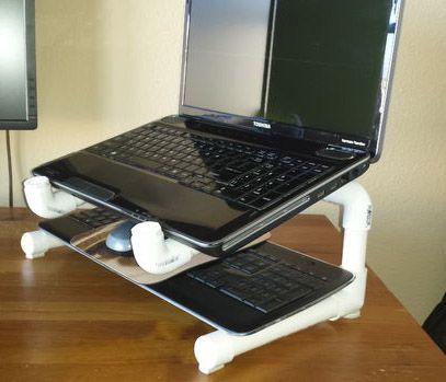 10 Cheap Creative Diy Laptop Stands In 2020 Diy Laptop Stand