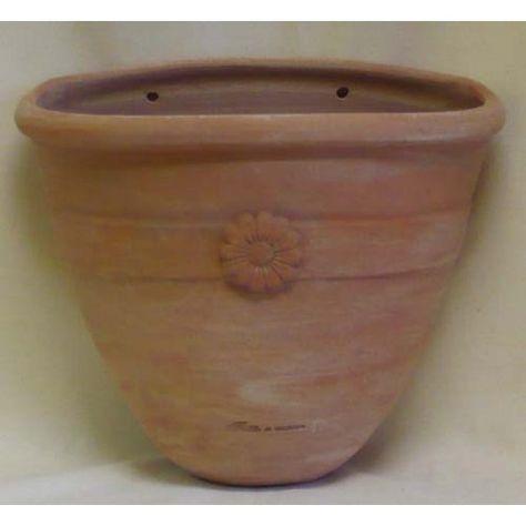 Vaso Di Coccio.Vaso Terracotta Da Parete Fiore Terracotta Vasi E Vasi Di
