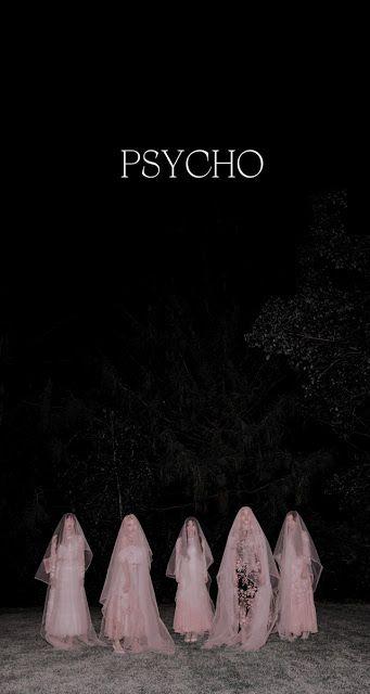 Red Velvet Psycho Lockscreens Wallpapers Screenshots Kpoplocks Hd Velvet Wallpaper Red And Black Wallpaper Red Velvet