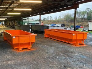 Florida Gator Color New Roll Off Dumpsters For Sale Gainesville Florida Cedar Manufacturing In 2020 Gainesville Florida Roll Off Dumpster Dumpsters