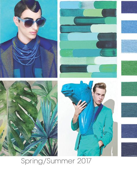 color report on Contemporary Men's mood details: Just One Of The Boys.