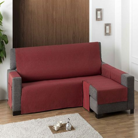 fundas para sofas chaise longue Pinterest Espaa
