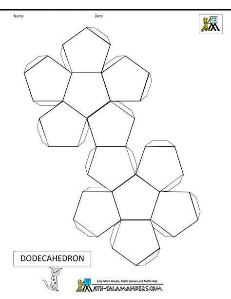 3-D printable shapes Math