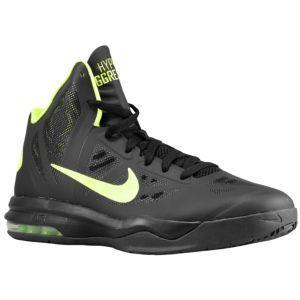 half off 3b8fc e284e Nike Air Max Hyperaggressor - Men s - Basketball - Shoes - Black Dark Grey  Volt