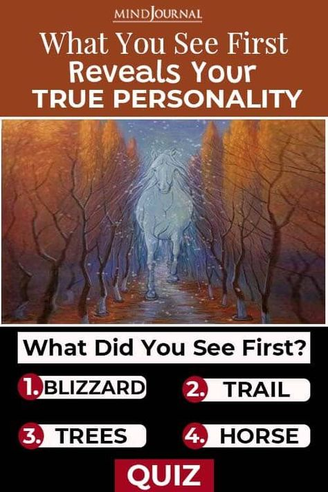 What you see first in these optical illusions, holds the key to decoding your true personality, and can help you know yourself a bit better. #personalitytrait #quiz