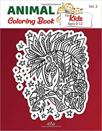 Amazon Com Animal Coloring Book For Kids Ages 8 12 Cute Funny Mandala Animal Picture Book Enjoy Animal Colo Coloring Books Animal Coloring Books Book Design