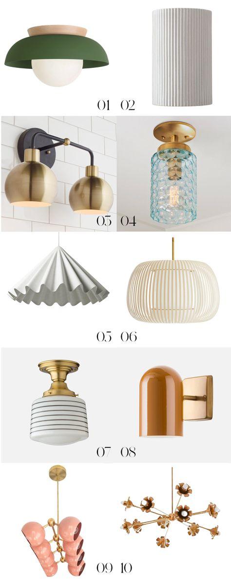 Renovators' Lighting Guide - Oh Joy!