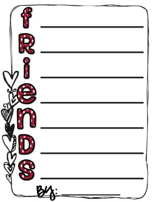 Valentines Day Acrostic Poem For Kids 1st Grade Writing Teaching Writing