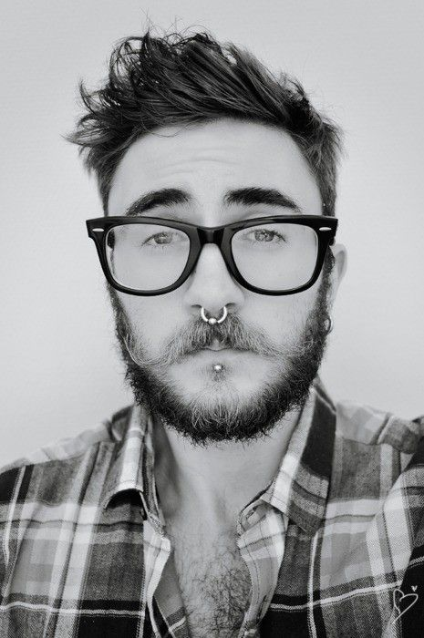 nasa guy with piercings - 465×700