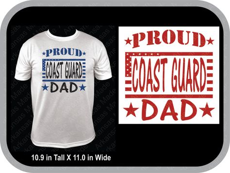 Proud Dad Navy, Army, Air Force, Coast Guard, Marine, saluting soldier shirt Many colors to choose from! - pinned by pin4etsy.com