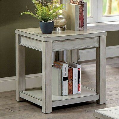 Loon Peak Arago End Table End Tables With Storage Contemporary