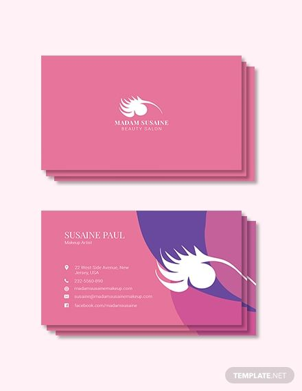 Creative Makeup Artist Business Card Template Word Doc Psd Apple Mac Pages Publisher Illustrator Makeup Artist Business Cards Templates Free Printable Business Cards Business Card Template Word