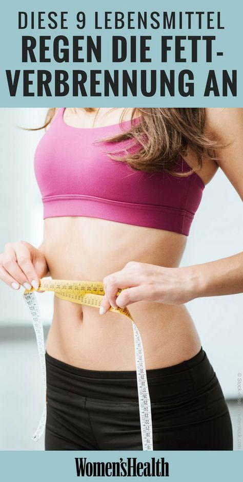 Fettverbrennung Energie Diät