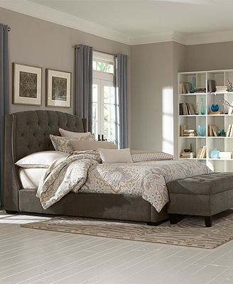 Option 1 1 Lesley Bedroom Furniture Collection Fabric On The