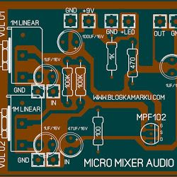 Cara Membuat Crossover Aktif 3 Way Blogkamarku Com Mixer Audio Mini