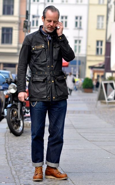 Yeah, if somebody could buy me a Belstaff jacket that would be pretty cool.oh and some decent jeans man