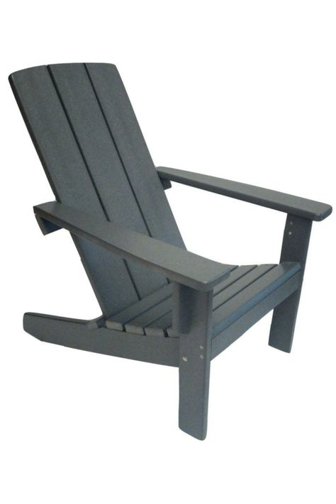 Brilliant Casual Poly Adirondack Chair Evergreen Patio In 2019 Machost Co Dining Chair Design Ideas Machostcouk
