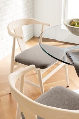 Evan Chair With Fabric Seat Modern Dining Chairs Modern Dining Room Kitchen Furniture Room Board Modern Dining Room Modern Dining Chairs Chair
