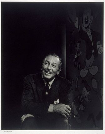 Walt Disney  1956  Yousuf Karsh, Canadian (born in Turkish Armenia), 1908–2002