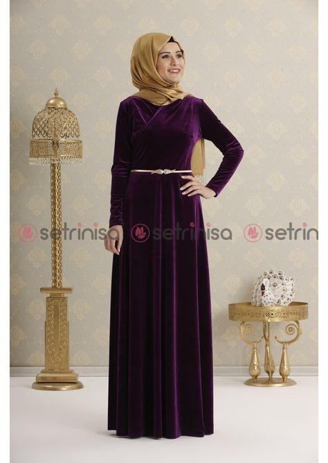 Rana Zen Vera Abiye Mor The Dress Elbise