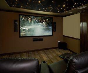 Home Theater Design Paradyme Sound Vision False Ceiling