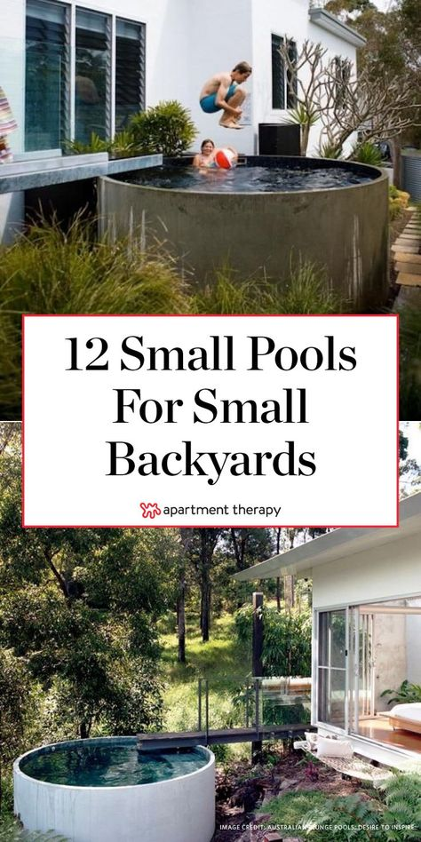 These Small Backyard Pools Show How to Make a Splash in the Tiniest Spaces
