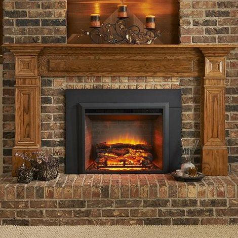 Wall Mounted Electric Fireplace Insert Only Electric Fireplace