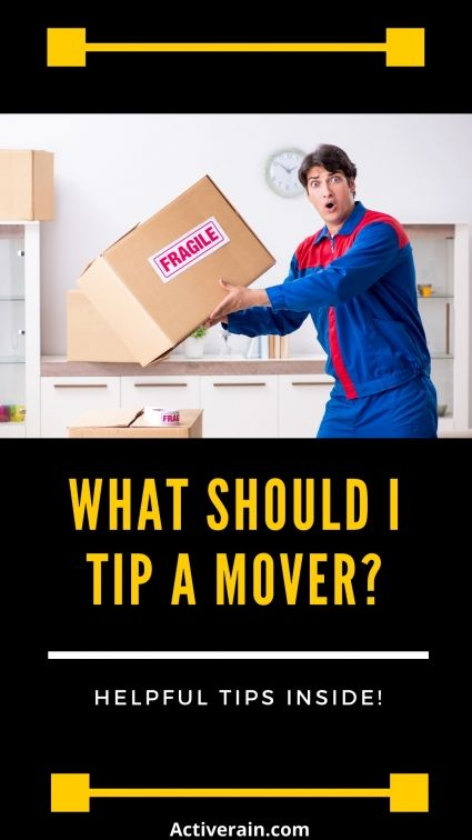 What Should You Tip Movers Real Estate Tips Real Estate