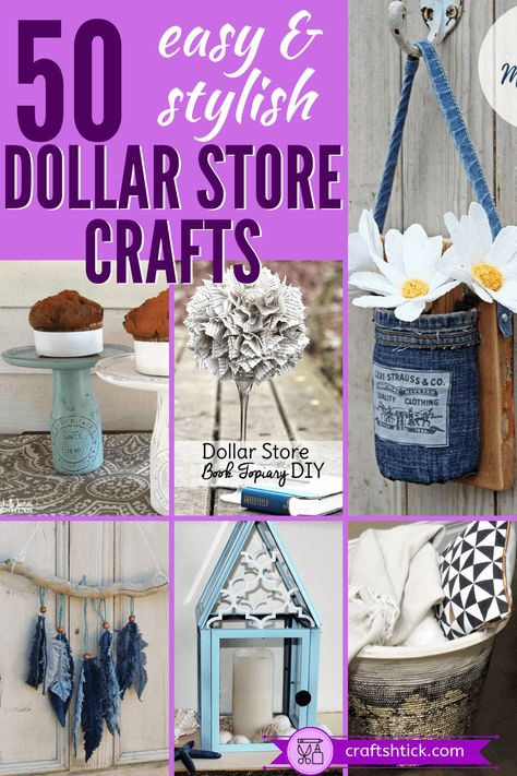 Dollar Tree Crafts And DIY Projects • Craft Shtick