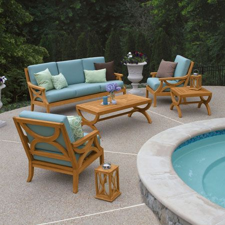 Teak Loung Seating Fiori Collection By Country Casual Country Casual Kids Outdoor Furniture Teak Outdoor
