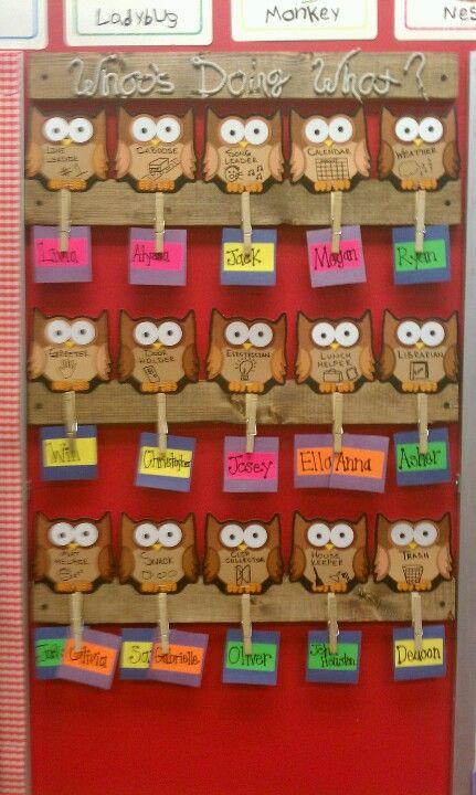 Best 25 preschool job chart ideas on pinterest kindergarten job