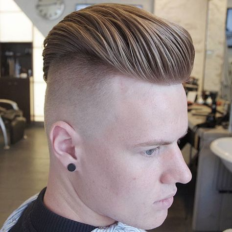 Thick Slick Back with Undercut