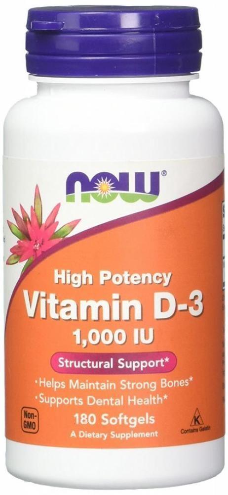 Now Foods Vitamin D 3 1 000 Iu 180 Softgels Nowfoods Dental Health Now Foods Vitamins