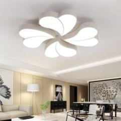 Online Shop Diy Flower Led Ceiling Light Modern Living Room Ceiling Lamps Bedroom Indoor Lighting Ho Ide Dekorasi Rumah Langit Langit Desain Rumah
