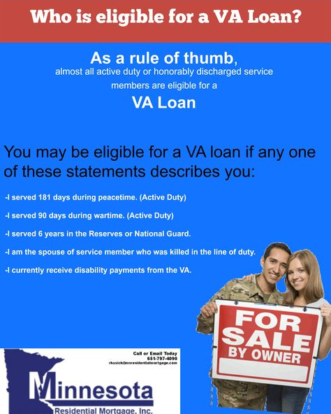 Who Is Eligible For A Va Loan Http Ow Ly Bikdr We Specialize