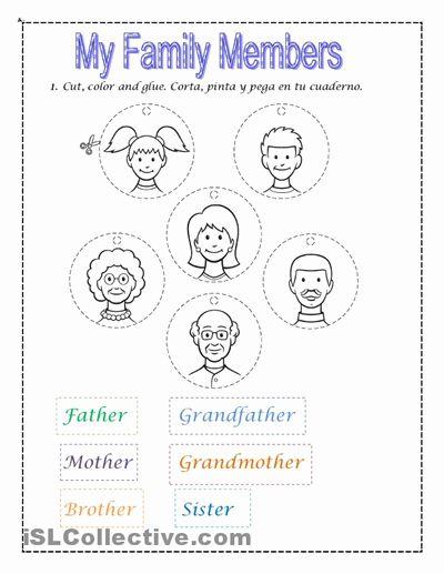M Family Kindergarten Worksheet Family Worksheet Kindergarten Worksheets Worksheets For Kids Worksheet family members for kindergarten