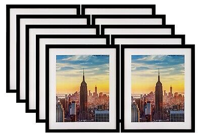 Frame Amo 20x24 Black Picture Frame 1 Inch Border 16x20 White Mat 1 310 Pack Fashion Home Garden In 2020 Black Picture Frames Black Picture Picture Frames