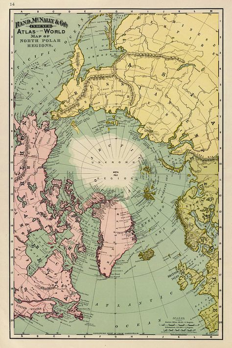 Map of North Pole regions – Arctica map fine print on paper or canvas North Pole vintage map, Old Maps - Today PinLandscape Gardening Ideas For SlopesWhether it's a vintage print of where you live or a wall-size illustration of the Vintage Maps, Antique Maps, Vintage Prints, Vintage Travel, Room Posters, Poster Wall, Poster Prints, Band Posters, Art Prints
