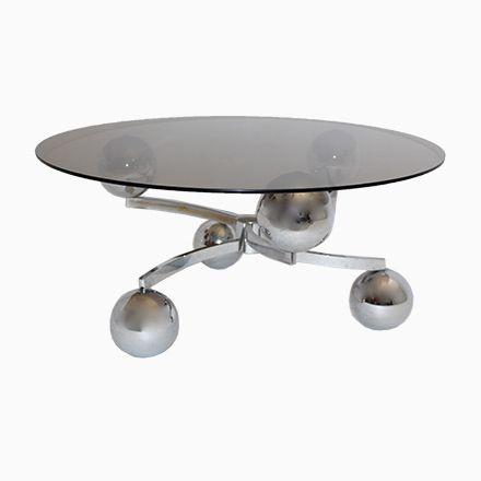 Verchromter Sputnik Couchtisch, 1970er Jetzt Bestellen Unter:  Https://moebel.ladendirekt.de/wohnzimmer/tische /couchtische/?uidu003d97a1efa7 C4d0 596a Bu2026