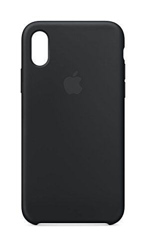 Funda Silicone Case para el iPhone XS Max - Negro - Apple (ES)