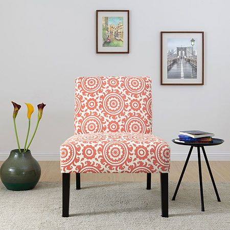 Jackson Medallion Slipper Accent Chair Accent Chairs Wooden Wall Shelves How To Clean Furniture