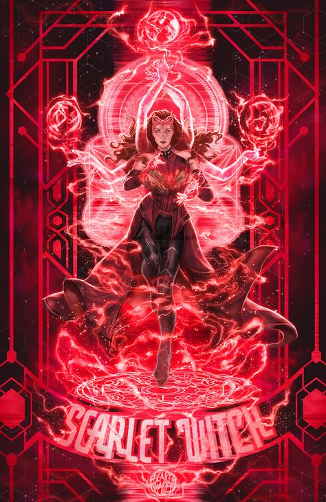 Scarlet Witch, Harbinger of Chaos, elrmysr