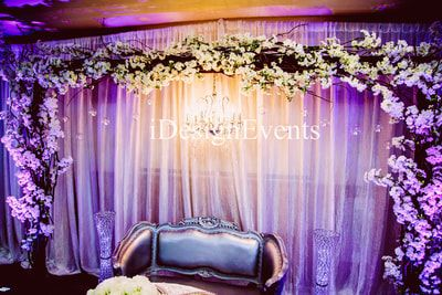 Custom Enchanted Garden Backdrop Arch Of Greenery And Flowers Wedding Ceremony Reception Backd Wedding Reception Themes Backdrops For Parties Rental Decorating