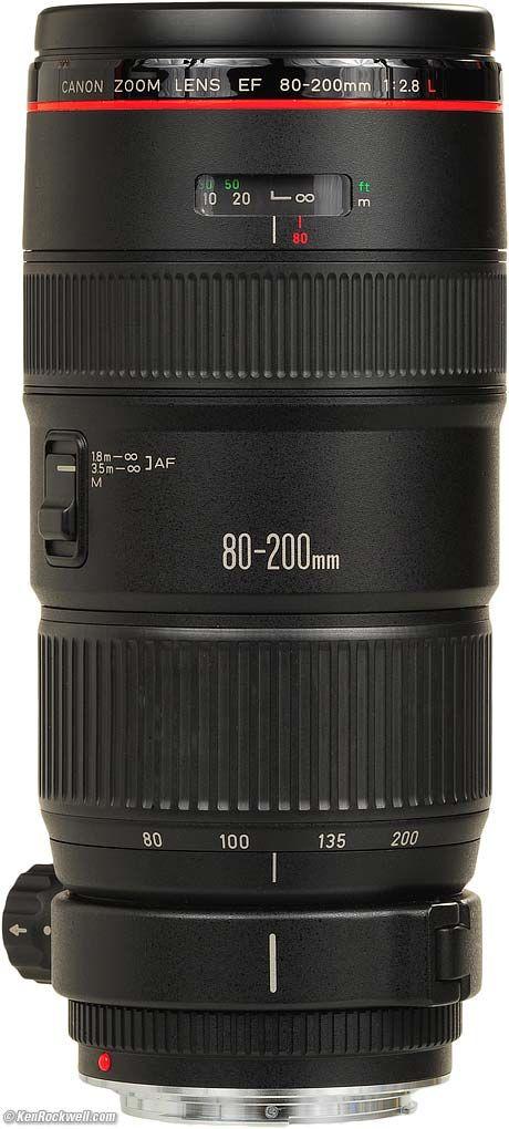 Canon 80 200mm F 2 8 L Canon Canon Lens Camera Hacks