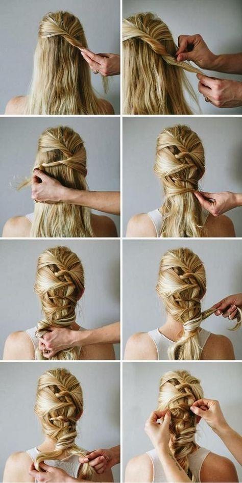 Beautiful Soft Romantic Twist Hairstyle   Haircuts & Hairstyles for short long medium hair