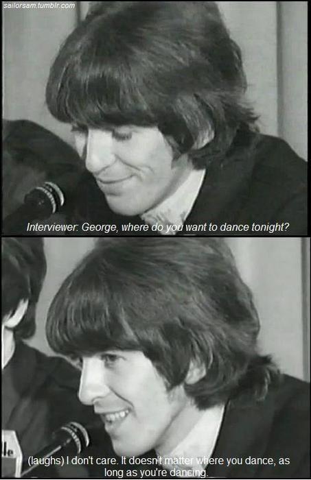"""Pin By Н""""¬ Н""""ª Н""""¼ Н""""¼ Н""""² Н""""® On Q U O T E S In 2020 Beatles George Beatles Funny The Beatles"""