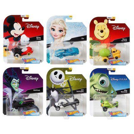 Hot Wheels 2020 Disney Pixar Character Cars Series 7 Set of 6 1//64 FREE SHIPPING