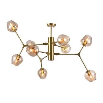 Eastbourne 6 Light Unique Statement Geometric Chandelier Chandelier Shades Chandelier Geometric Chandelier