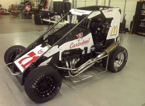 Kyle Larson S Chili Bowl Ride Sprint Car Racing Race Cars